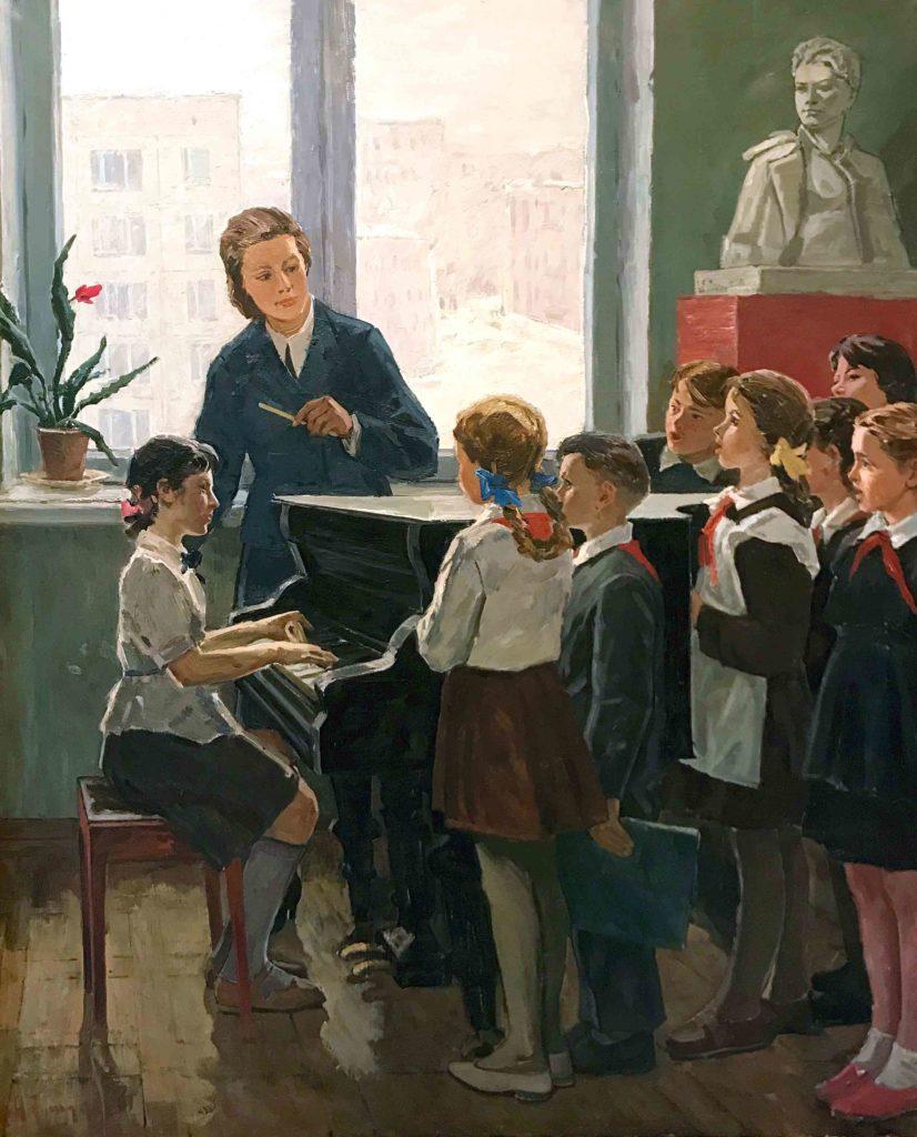 Тимофеев Анатолий Павлович, Школьный хоровой кружок. 1967 г.