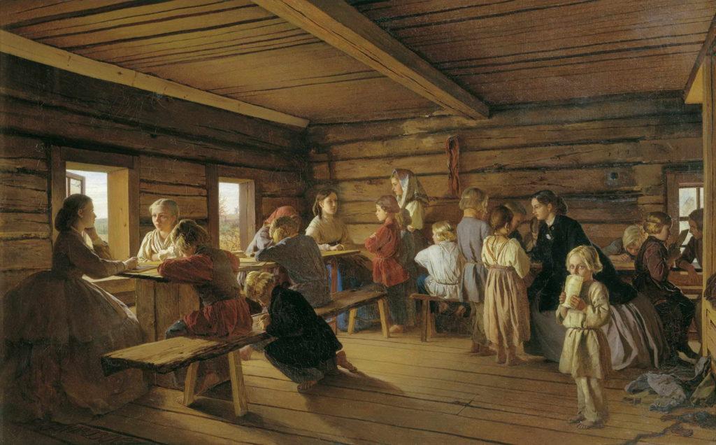 Морозов Александр Иванович - Сельская бесплатная школа