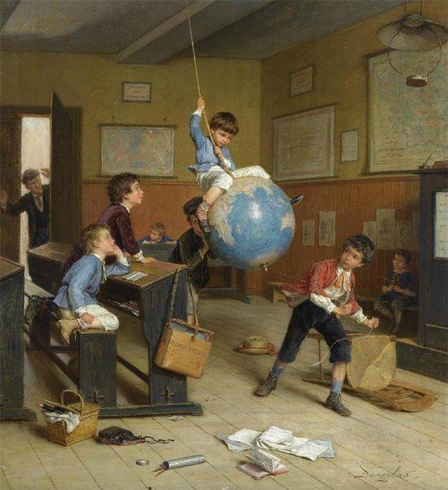 "Андре Анри Даргелас ""Кругосветное путешествие"" (Le Tour Du Monde). 1906."